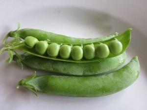 8 peas